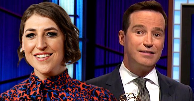 Mayim Bialik [left) and Mike Richards (right)   Photo: Getty Images