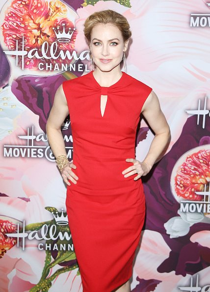 Amanda Schull at Tournament House on January 13, 2018 in Pasadena, California. | Photo: Getty Images