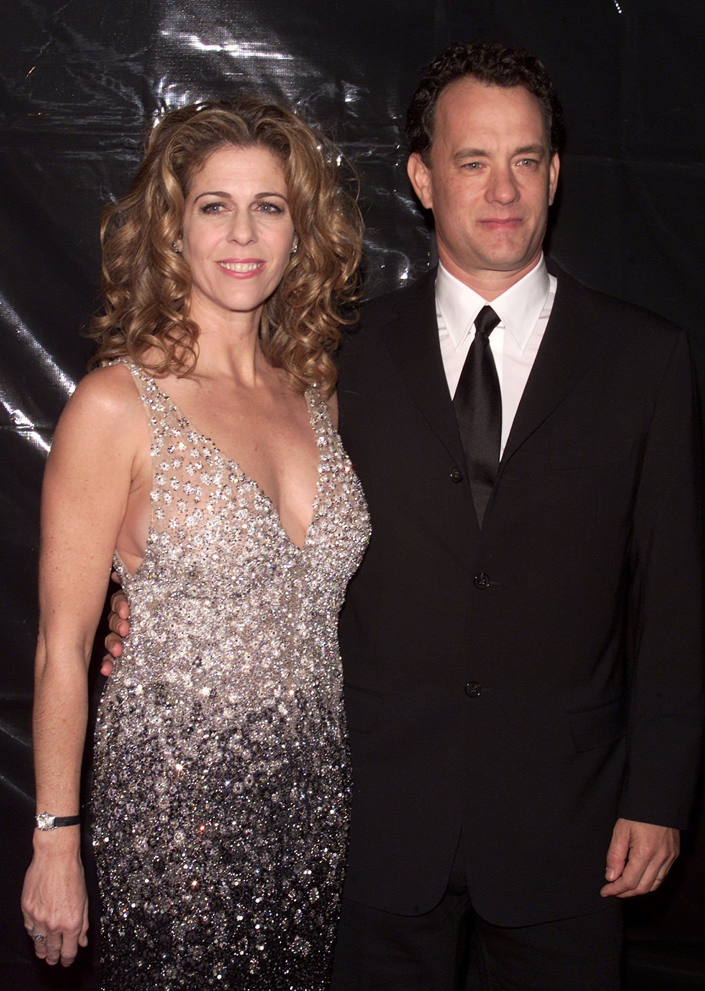Tom Hanks and Rita Wilson attend the Valentino 40th Anniversary in Los Angeles on November 17, 2000 | Photo: Getty Images
