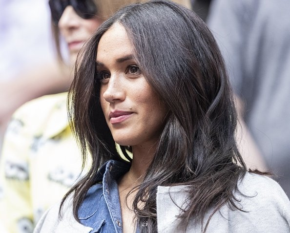 La duchesse de Sussex, Meghan Markle à la finale féminine de l'US Open entre Serena Williams et Bianca Andreescu. | Photo : Getty Images