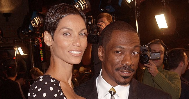 See Eddie Murphy's Granddaughter Evie in Baby Deer Costume as She Poses in Her Parents' Arms