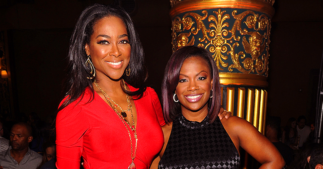 Kandi Burruss of RHOA Shares Sweet Photos of Son Ace Hanging out with Kenya Moore's Daughter