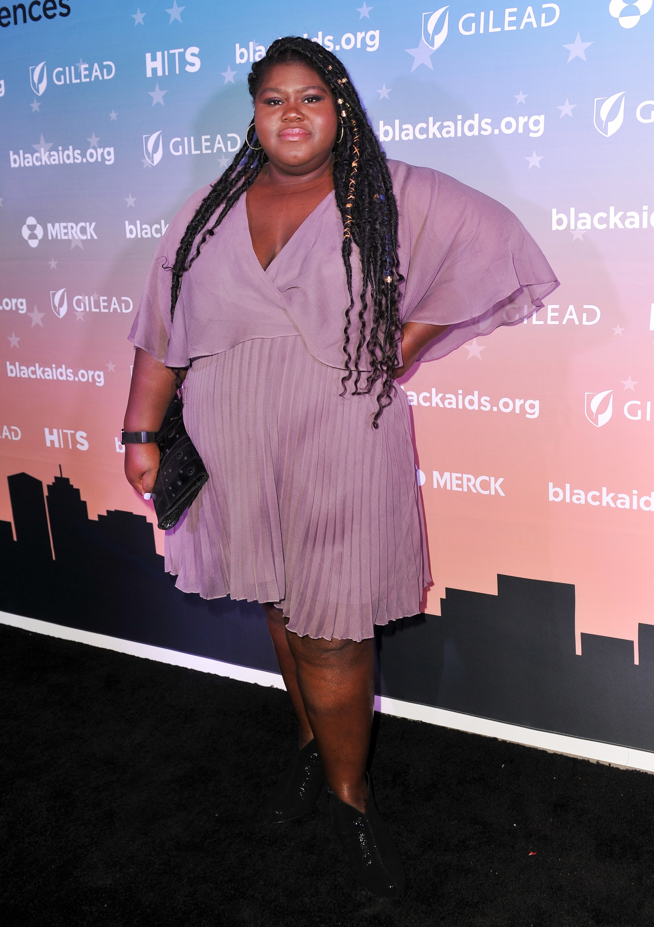 Gabourey Sidibe attends the Black AIDS Institute's 2018 Heroes in The Struggle Gala at California African American Museum in Los Angeles on December 01, 2018   Photo: Getty Images