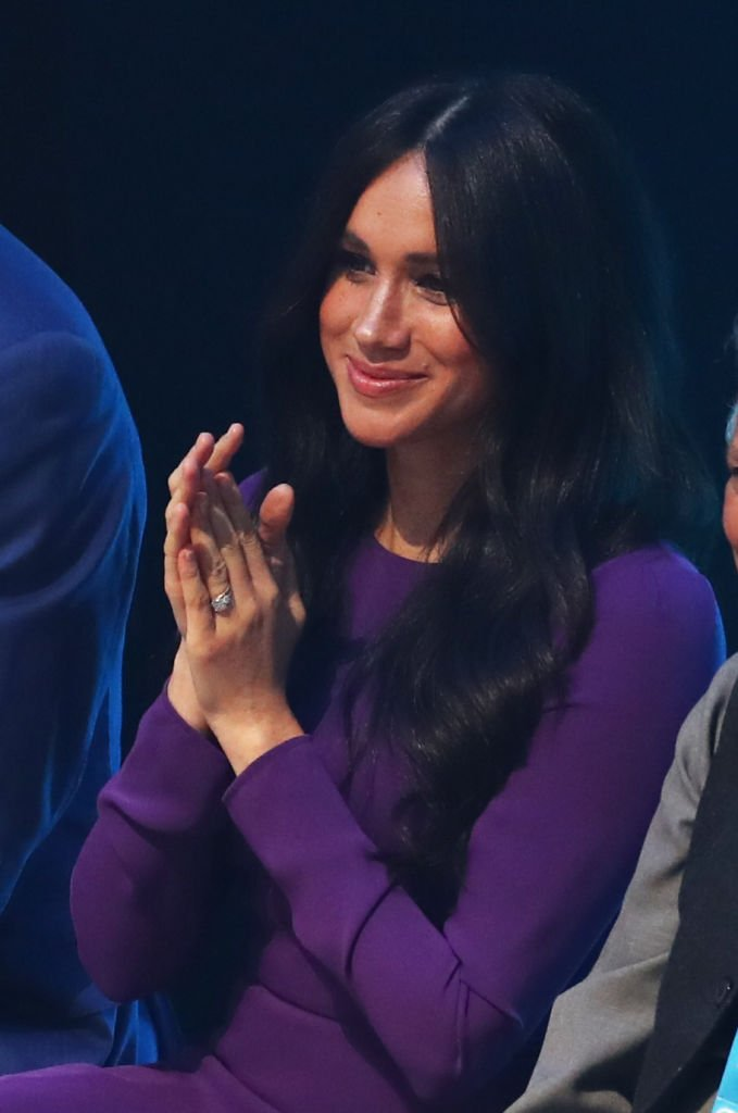 Meghan Markle attends the One Young World Summit Opening Ceremony at the Royal Albert Hall. | Photo: Getty Images