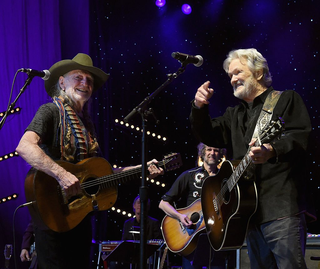Willie Nelson and Kris Kristofferson, 2016. Image Credit: Getty Images