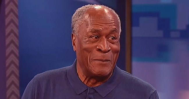 John Amos' Only Son K.C. Shows Him Relaxing by the Beach in a New Vacation Video