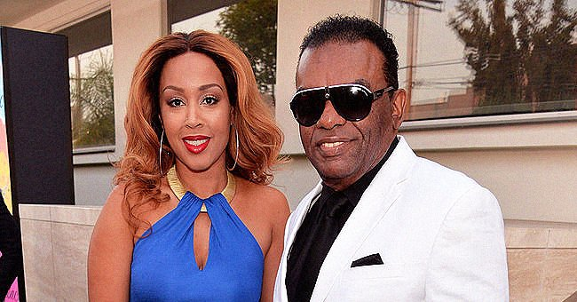 Ron Isley's Stunning Wife Kandy Puts on a Leggy Display Rocking a Yellow Belted Mini Dress