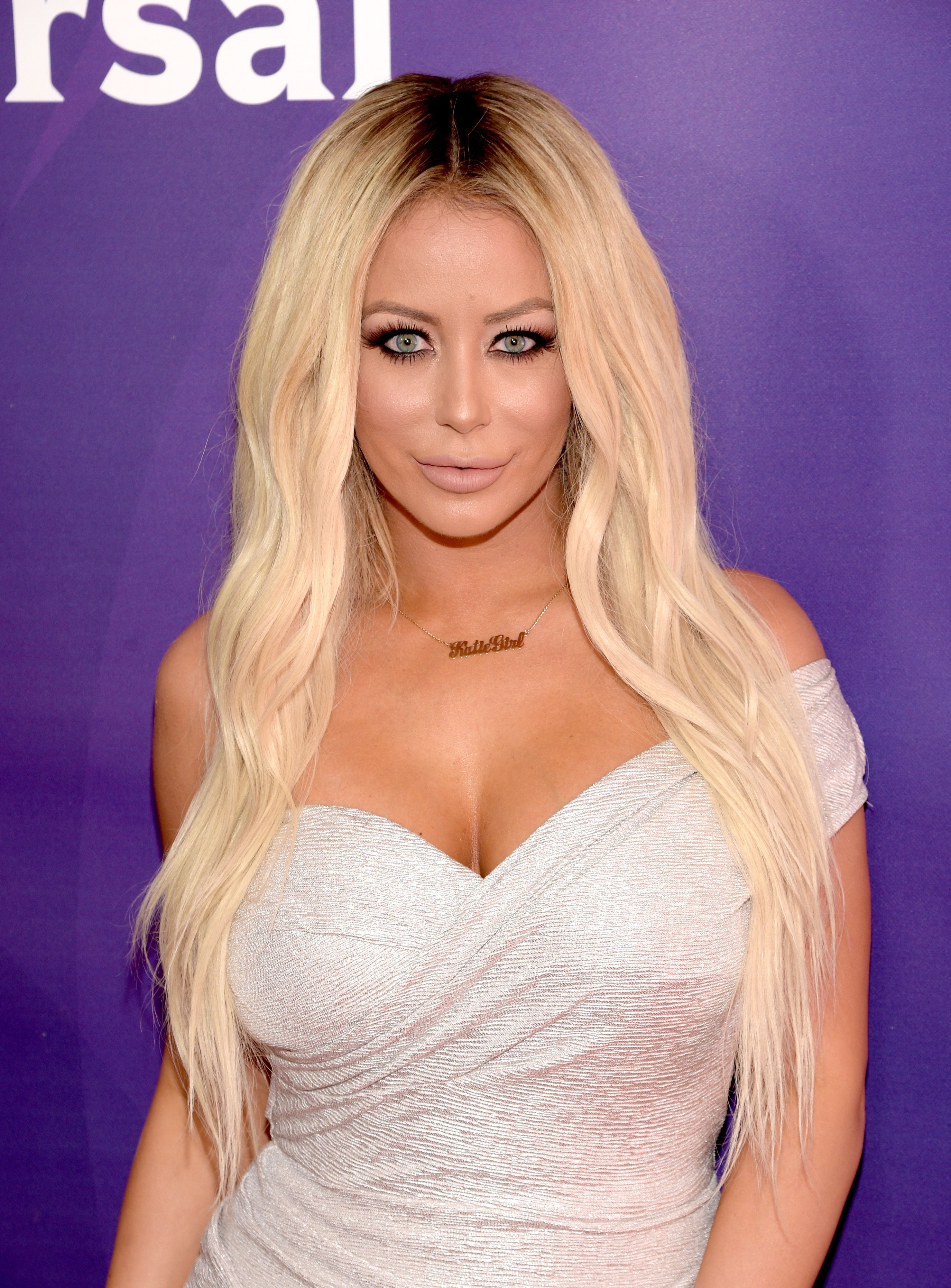 Aubrey O'Day attends the 2016 NBCUniversal Summer Press Day at Four Seasons Hotel Westlake Village on April 1, 2016 in Westlake Village, California. | Source: Getty Images