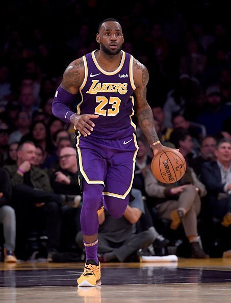LeBron James at Staples Center on November 13, 2019 | Photo: Getty Images