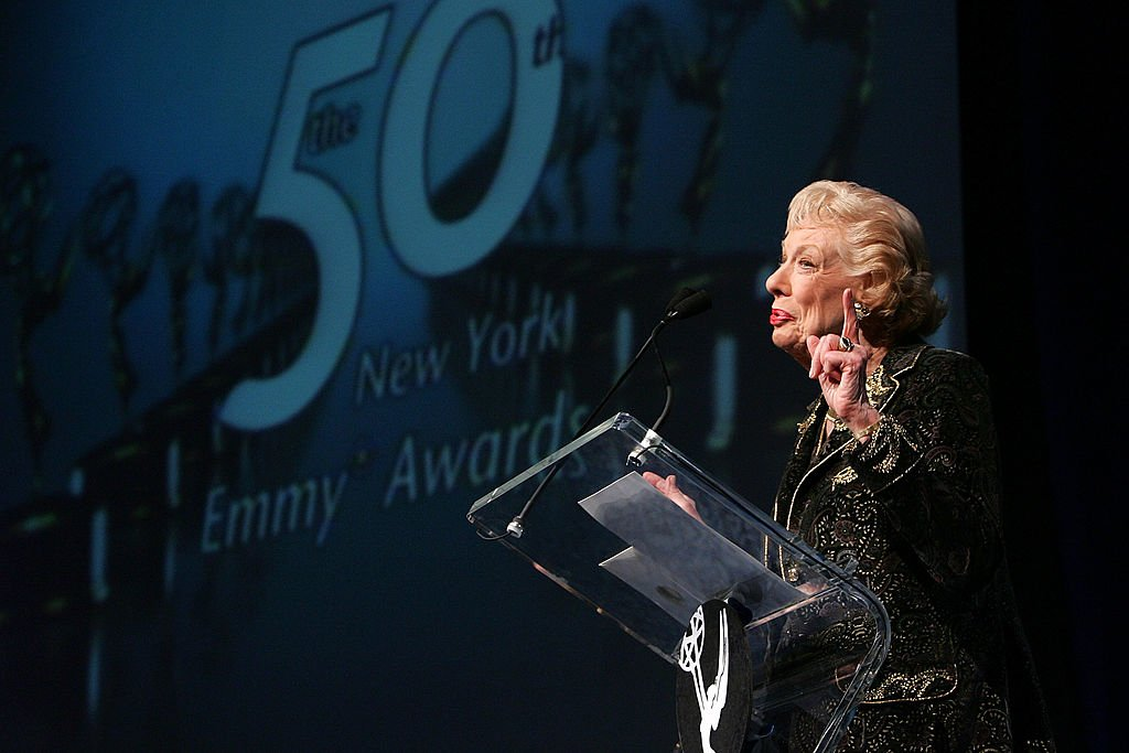 Actress Joyce Randolph speaks onstage at the 50th Annual New York Emmy Awards Gala on April 1, 2007 in New York City. | Photo: Getty Images