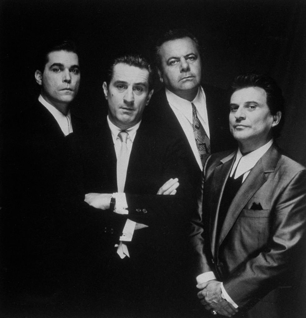 """Good Fellas"" -Schauspieler: Ray Liotta, Robert De Niro, Paul Sorvino und Joe Pesci. (Foto von Dirck Halstead) I Quelle: Getty Images"