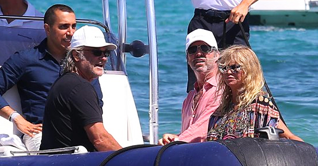 Goldie Hawn and Kurt Russell Spotted Enjoying Their Vacation in St Tropez
