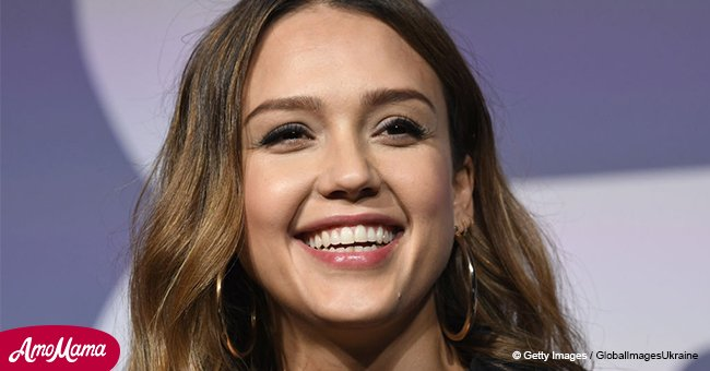 Jessica Alba shares family photo with 4-month-old son speaking on joys of motherhood
