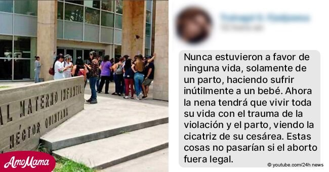 Muere bebé de víctima de violación de 12 años a quien se le prohibió abortar