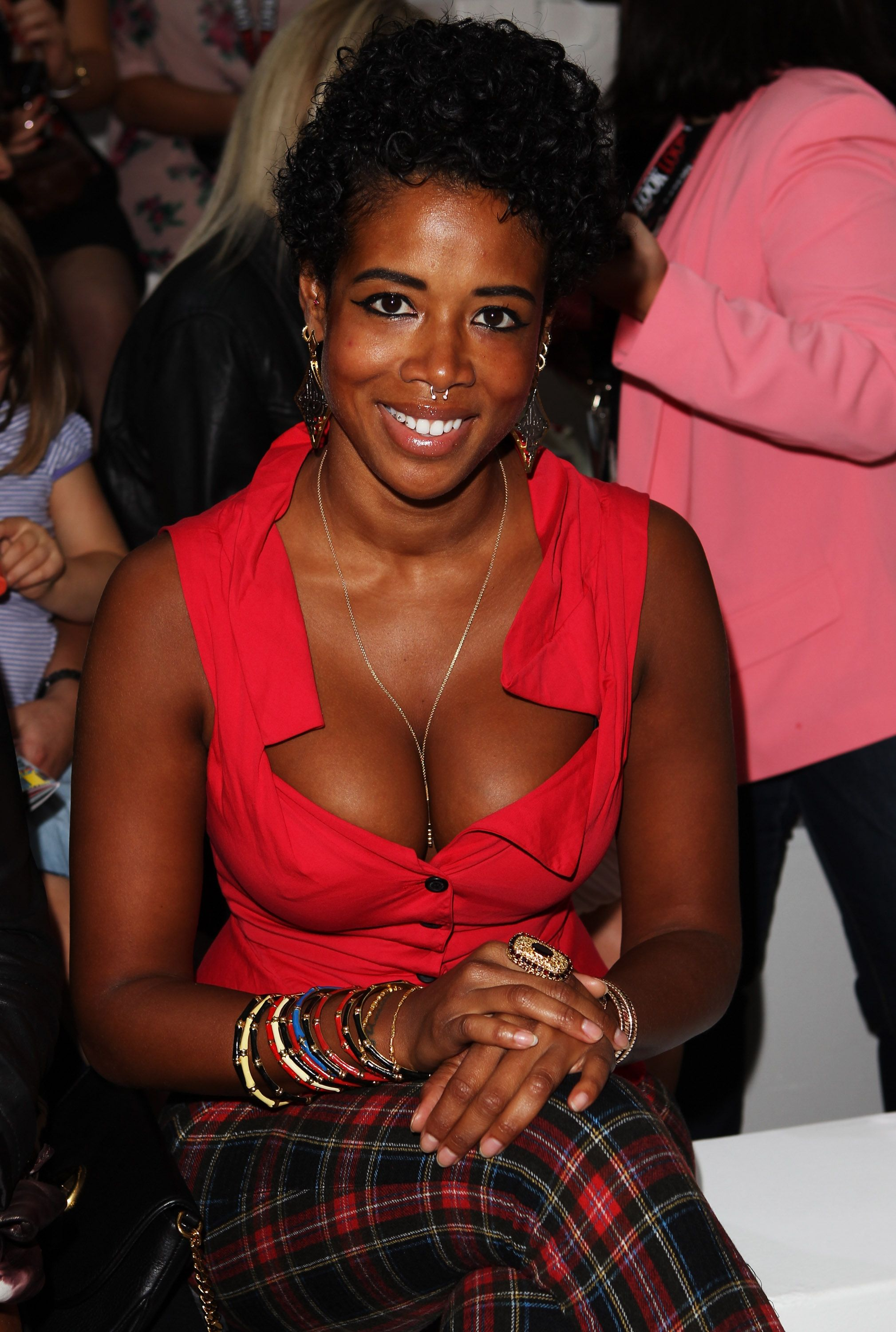 Kelis attends the LOOK fashion show during London Fashion Week in September 2011 | Photo: Getty Images