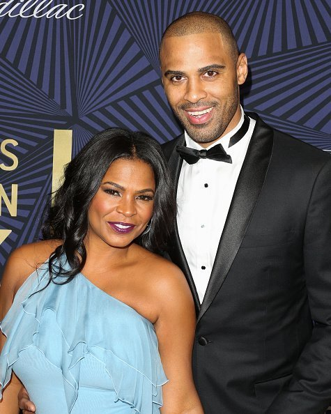 Nia Long and her Husband Ime Udoka at the BET's 2017 American Black Film Festival Honors Awards at The Beverly Hilton Hotel on February 17, 2017 in Beverly Hills,California.|Photo:Getty Images