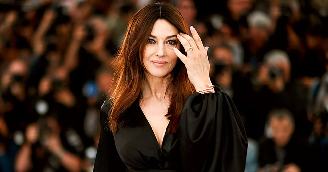 See Monica Bellucci in Action for 'Befana Comes at Night 2' in a New Pic of Her with Gray Hair