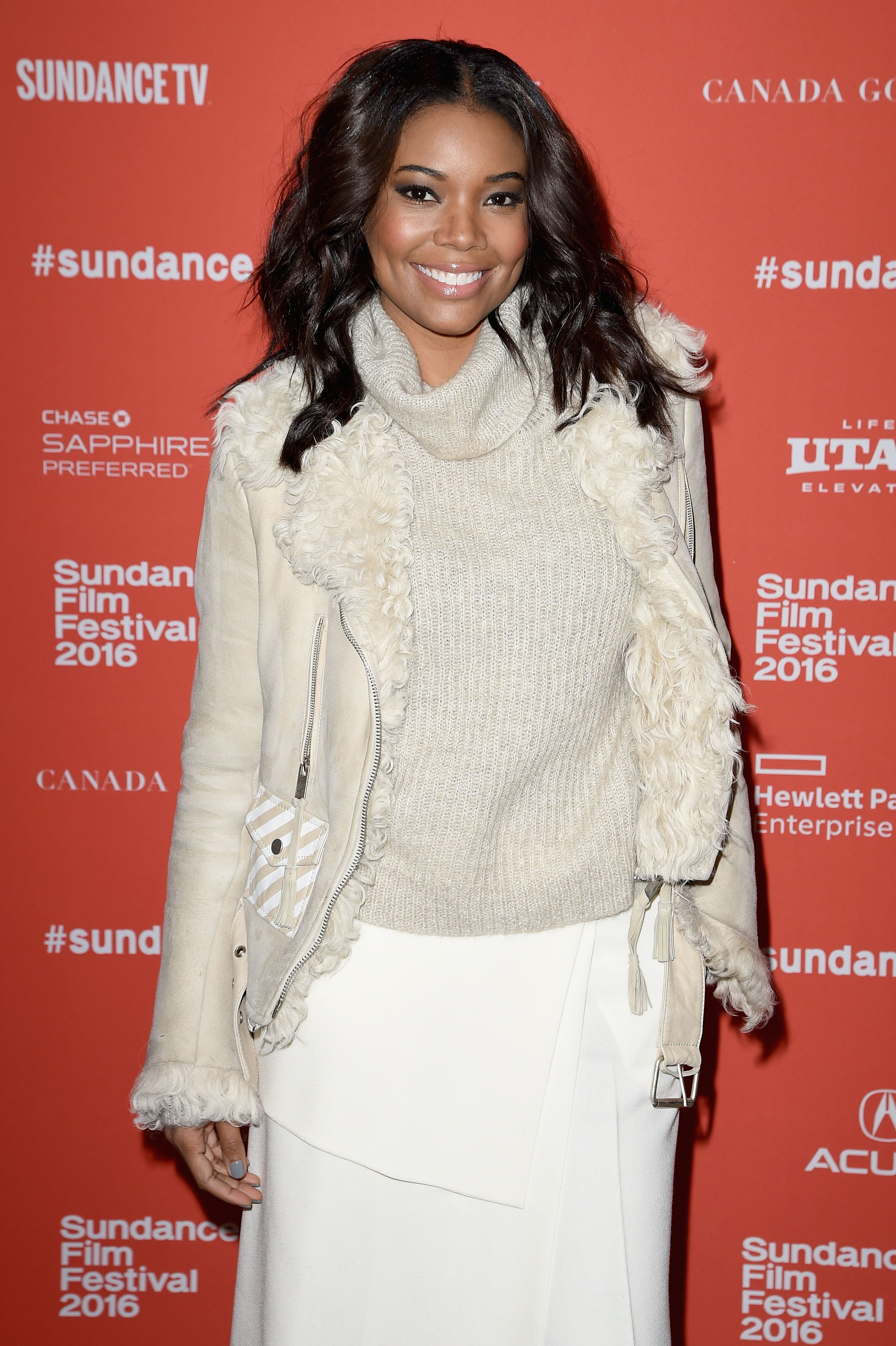 """Gabrielle Union during the """"The Birth Of A Nation"""" premiere at the 2016 Sundance Film Festival at Eccles Center Theatre on January 25, 2016 in Park City, Utah. 