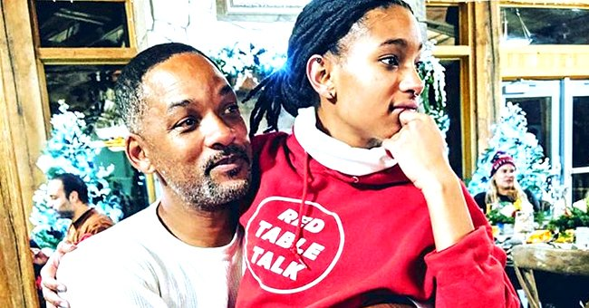 Jada Pinkett Gushes over Husband Will Smith's Relationship with Their Daughter Willow in a New Post