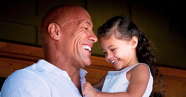 Dwayne Johnson of 'Jumanji' Fame Wishes Daughter Jasmine a Happy 4th Birthday in Sweet Instagram Post