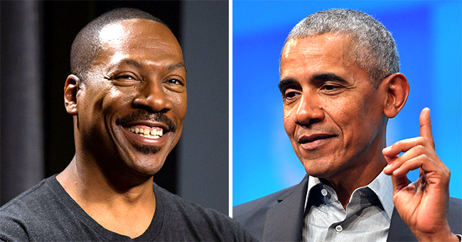 Eddie Murphy Chats with Stephen Colbert , Says Barack Obama Asked Him When He'd Return to Stand-Up & What Hair Dye He Uses