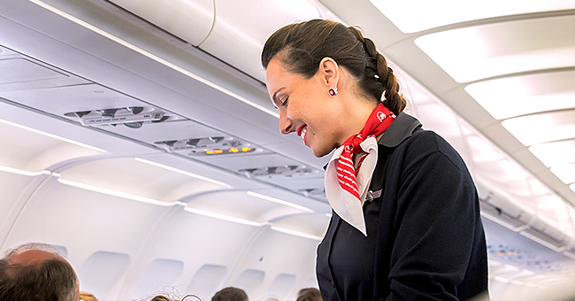 Daily Joke: A Flight Attendant Watched a Struggling Passenger