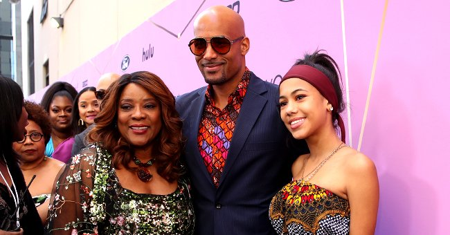 Boris Kodjoe from 'Soul Food' Strikes Pose with His Daughter Sophie at Essence Black Women in Hollywood Luncheon