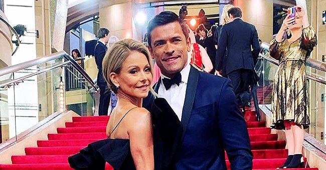 Kelly Ripa Warned Mark Consuelos & Ryan Seacrest to Keep Their Distance at 2020 Oscars Because of Her Full Body Makeup
