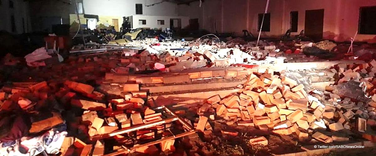L'effondrement d'une église a fait plus de 13 morts au nord de Durban
