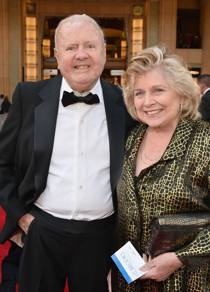 Dick Van Patten and Pat Van Patten attend the 41st AFI Life Achievement Award Honoring Mel Brooks | Getty Images