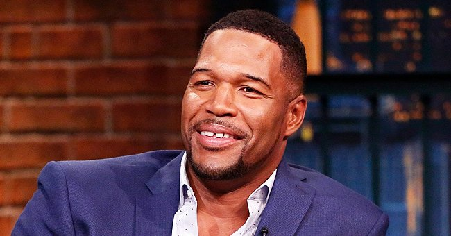 Michael Strahan & Wanda Hutchins' Daughter Flaunts Thighs Wearing Off-Shoulder Tight Ensemble in New Photo