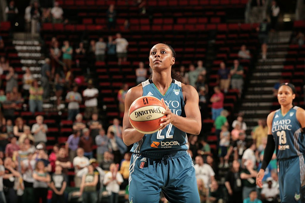 Monica Wright #22 of the Minnesota Lynx prepares to shoot a free throw against the Seattle Storm on June 25, 2015 at KeyArena in Seattle, Washington | Photo: GettyImages