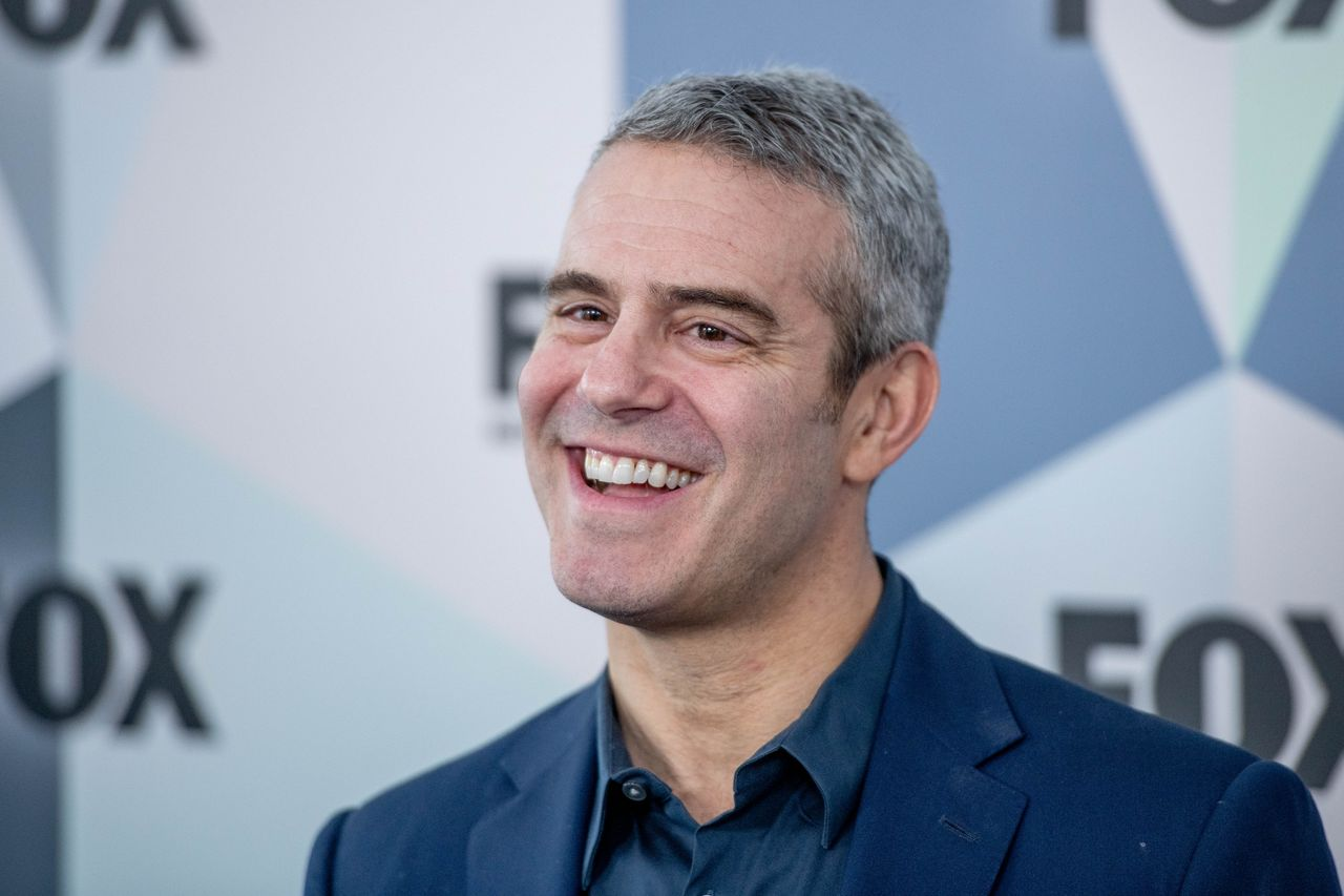 Andy Cohen during the 2018 Fox Network Upfront at Wollman Rink, Central Park on May 14, 2018.   Source: Getty Images