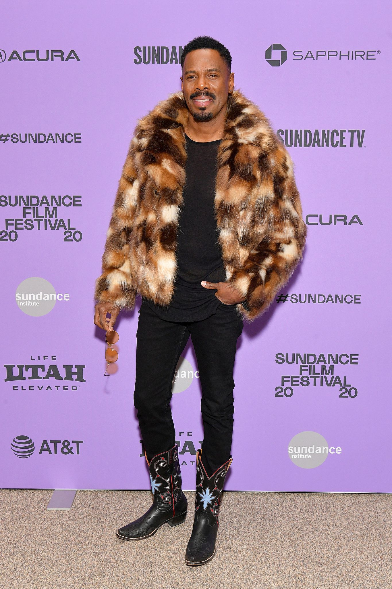"""Colman Domingo at the premiere of """"Zola"""" at the 2020 Sundance Film Festival in Park City, Utah 
