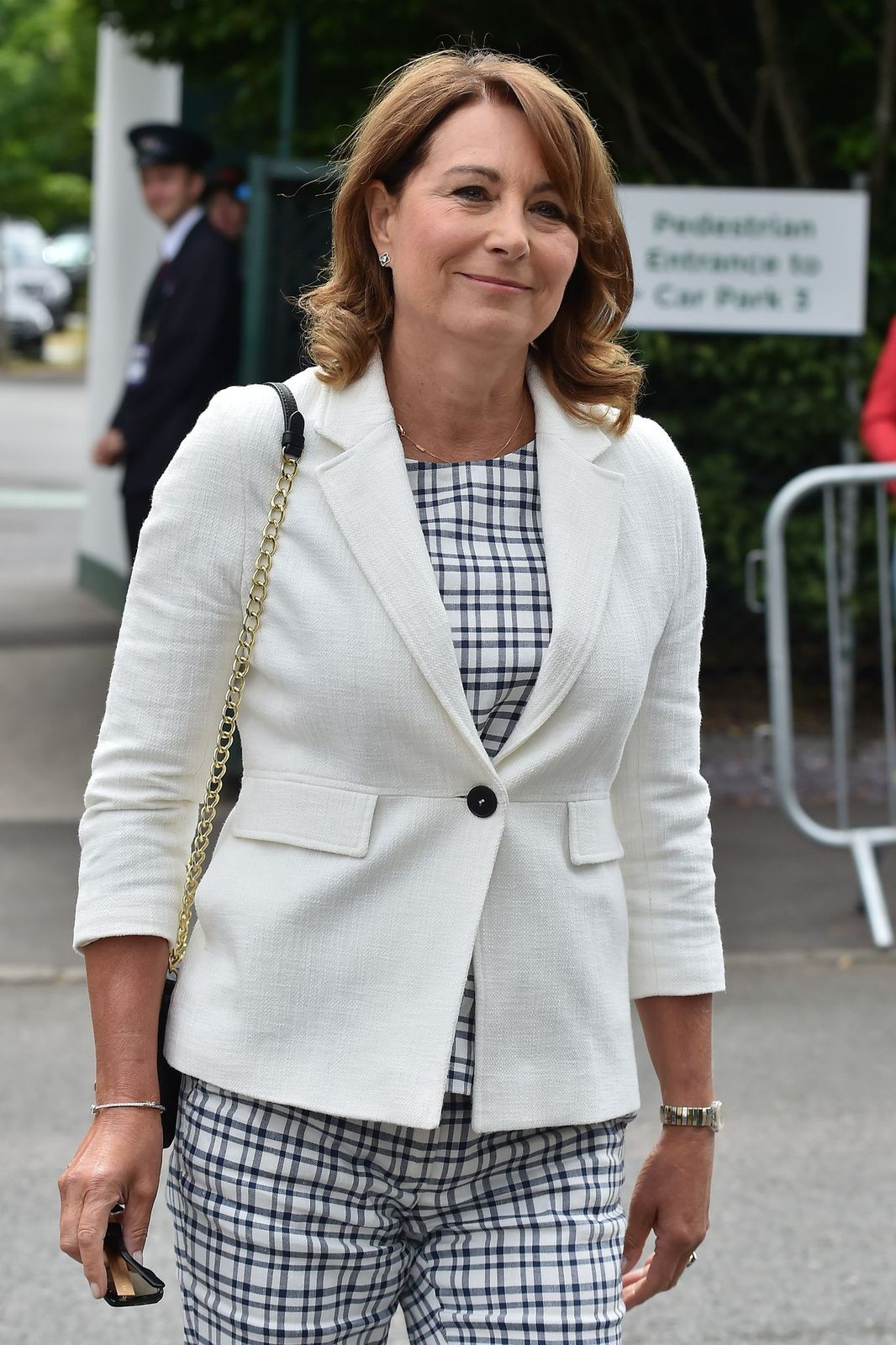 Carole Middleton seen at Day 11 of Wimbledon 2017 on July 14, 2017 in London, England | Photo: Getty Images