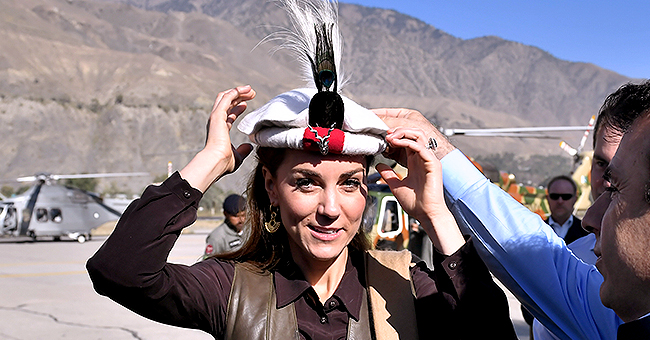 Kate Middleton Pays Tribute to Princess Diana as She Wears a Chitrali Hat during Trip to Pakistan Mountains