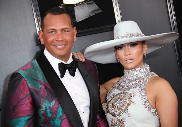 Alex Rodriguez and Jennifer Lopez at the 61st Annual GRAMMY Awards in Los Angeles, California. | Photo: Getty Images