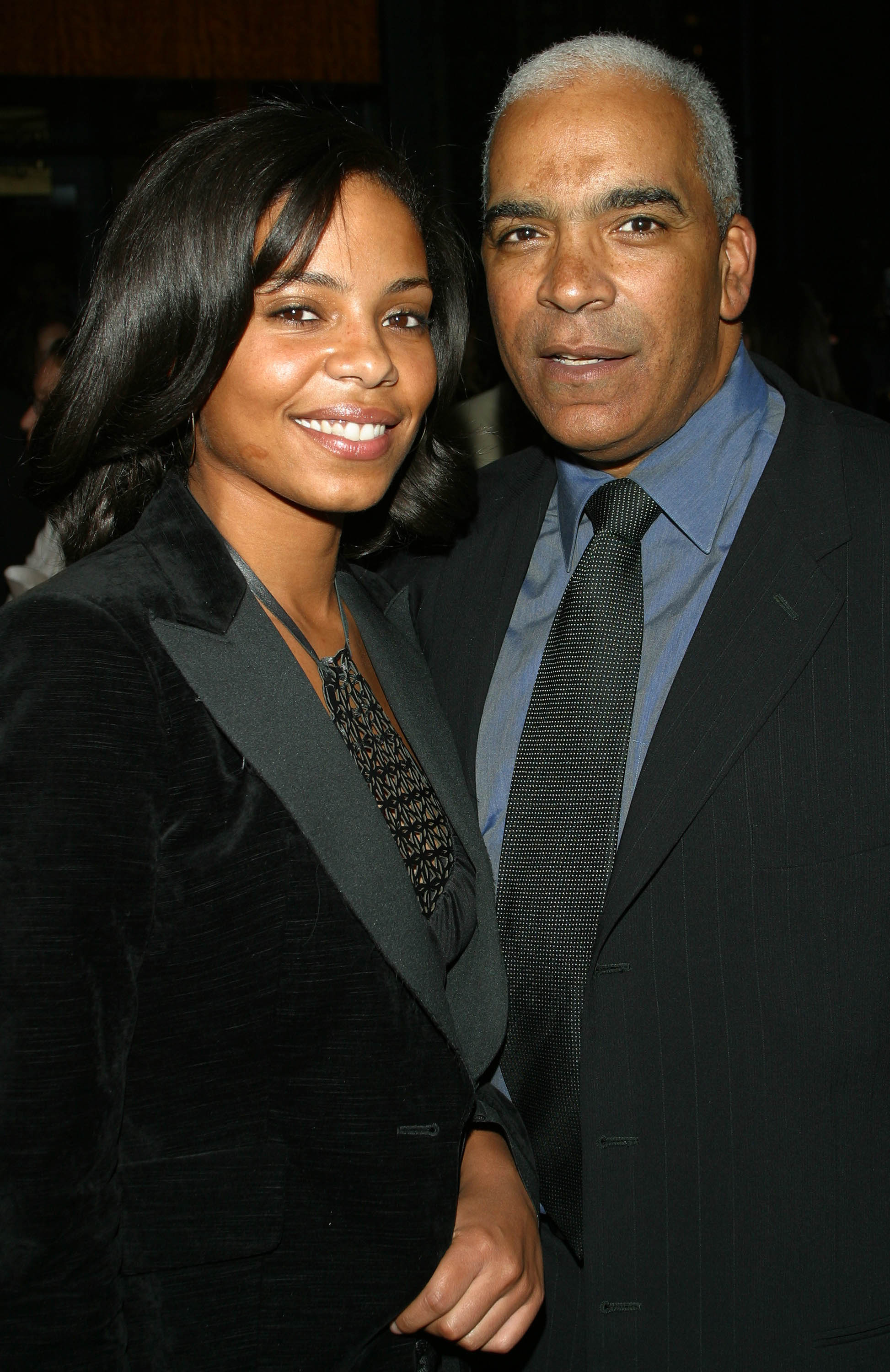 Sanaa Lathan and father Stan Lathan during Russell Simmons's Def Poetry Jam After-Party at Bryant Park Grill in New York, New York, United States.    Photo: GettyImages