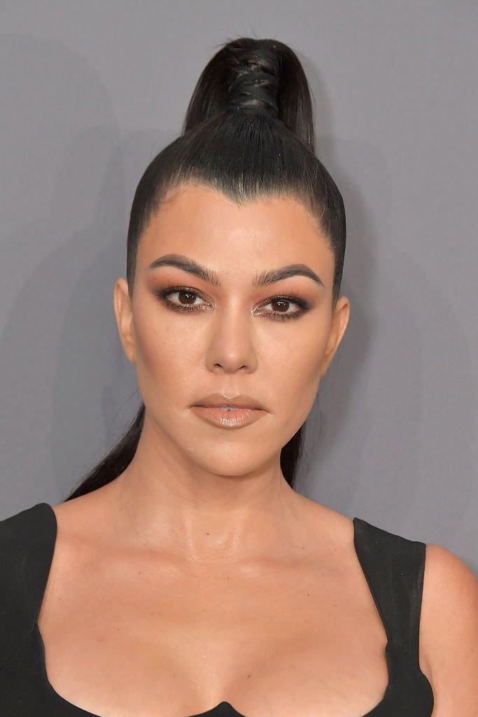 Kourtney Kardashian au gala amfAR New York 2019. |Source: Getty Images