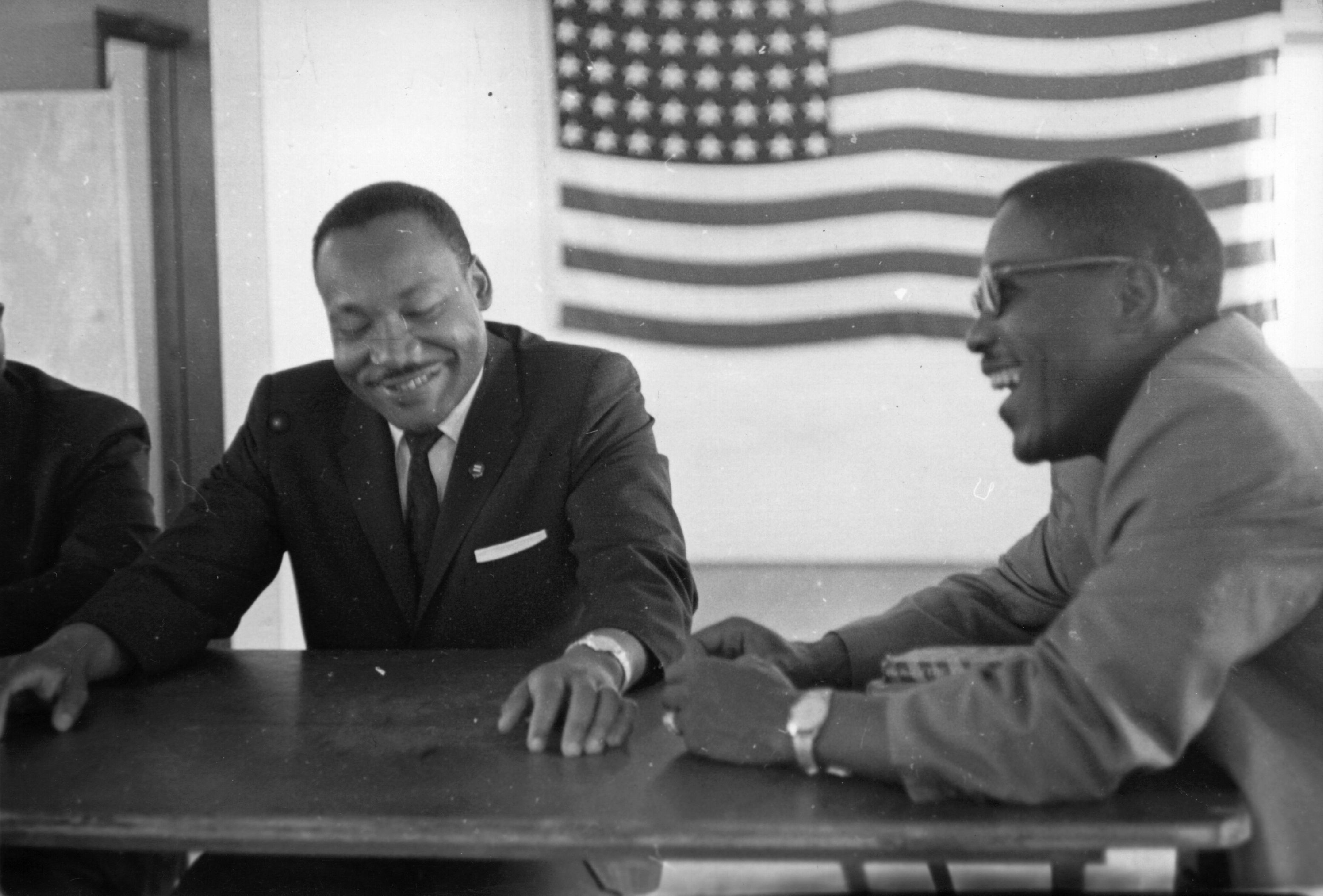 Dr Martin Luther King on a tour of the southern states of the United States of America. | Photo: GettyImages