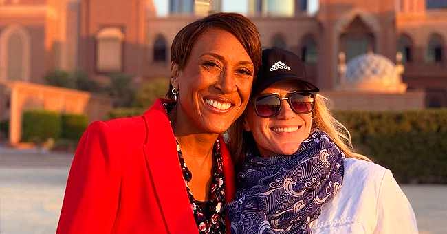 Robin Roberts of GMA Calls Girlfriend by Her Nickname in Cute Video of Them on a Plane with Friends