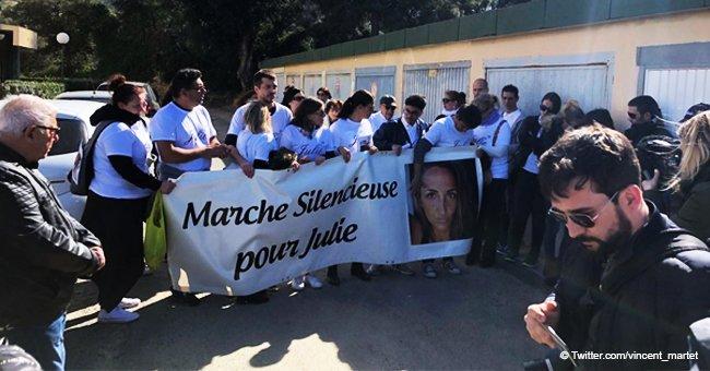 Deux marches blanches ont été organisées en hommage à Julie, la trentième victime de féminicide de l'année