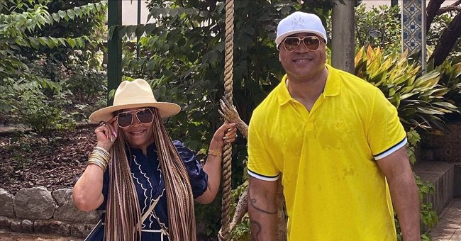LL Cool J Looks in Love with Wife of 25 Years Who Stuns in Gorgeous Ruffled Dress on Luxurious Italy Vacation