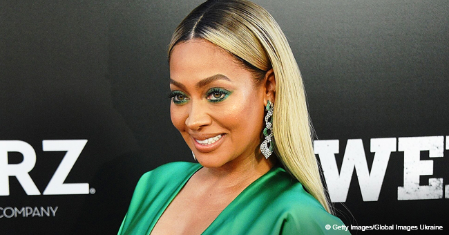 La La Anthony Stuns in White after Reconciling with Carmelo Anthony