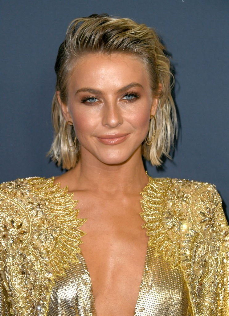 """Julianne Hough at the red carpet of the  """"America's Got Talent"""" Season 14 finale on Septmber 18, 2019. 