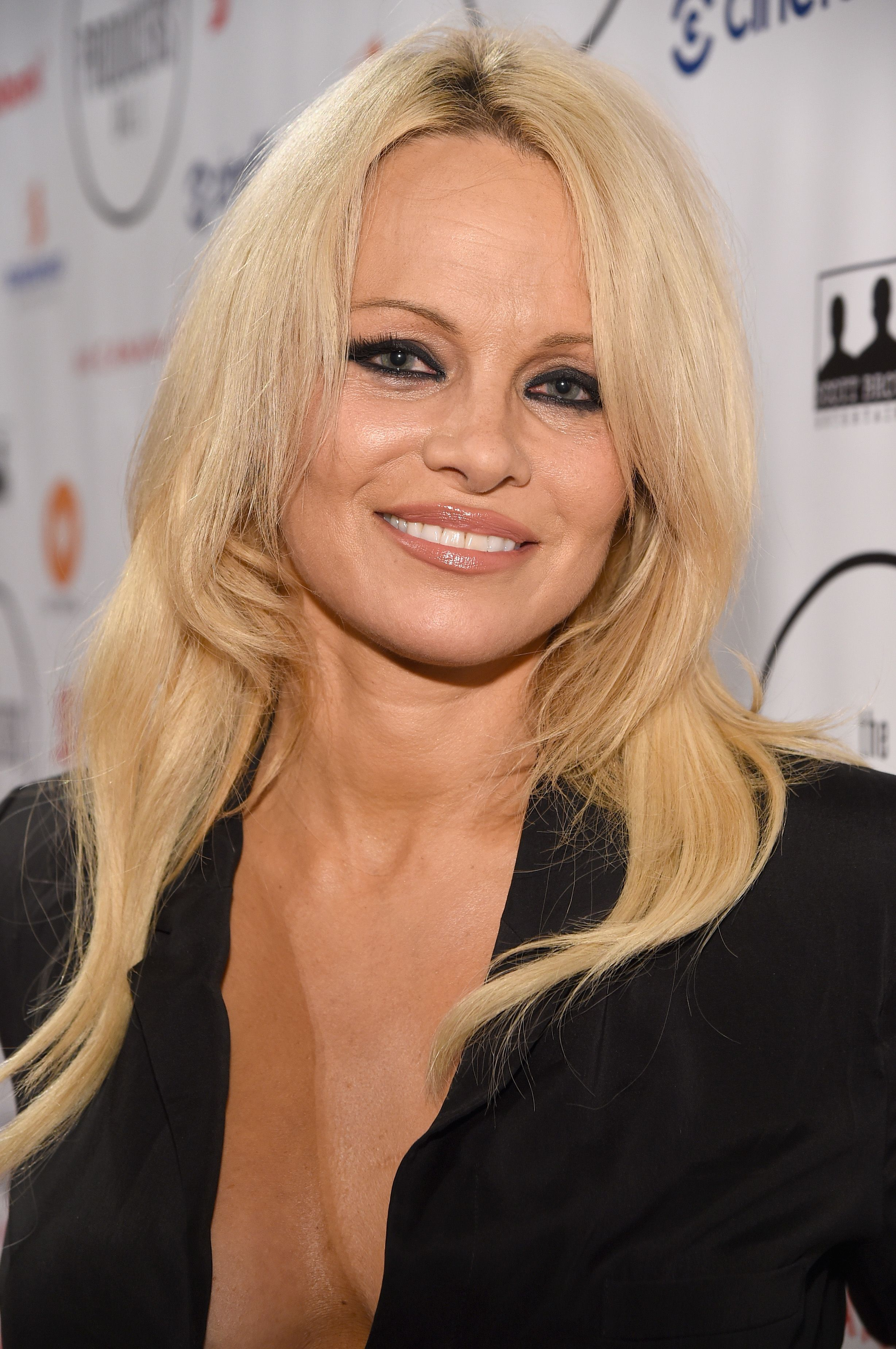Actress Pamela Anderson at the 5th Annual Producers Ball for the 2015 Toronto International Film Festival at Royal Ontario Museum on September 11, 2015. | Photo: Getty Images