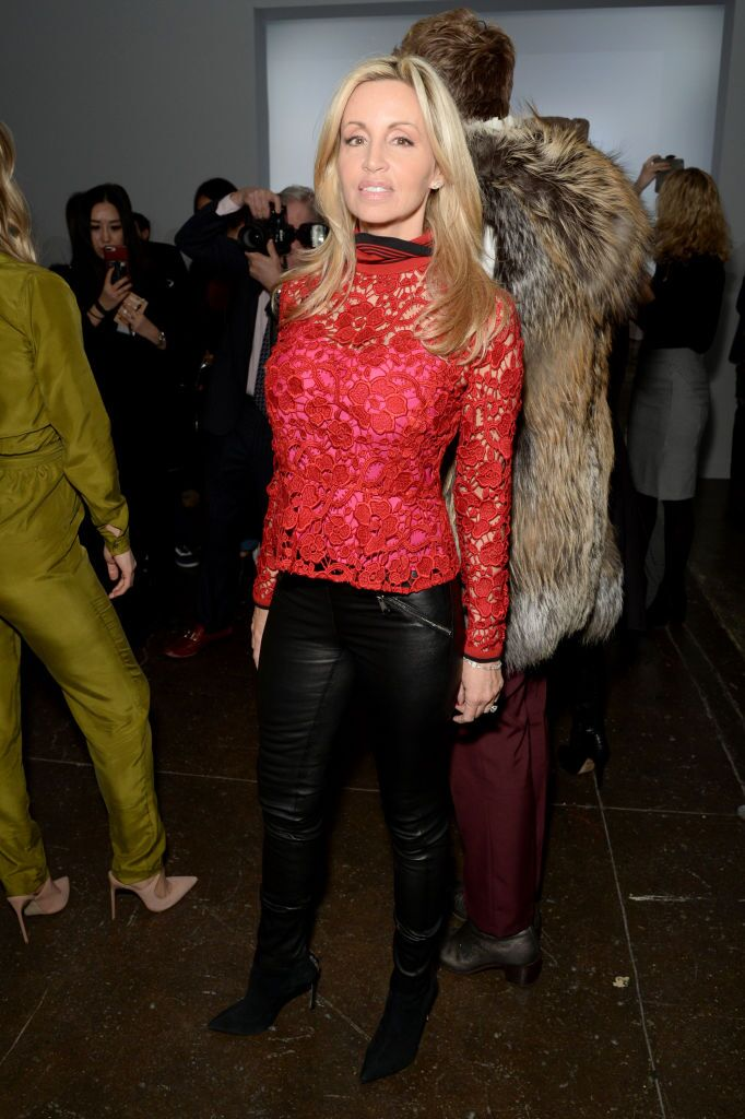 Camille Grammer at New York Fashion Week in 2018 in New York City | Source: Getty Images