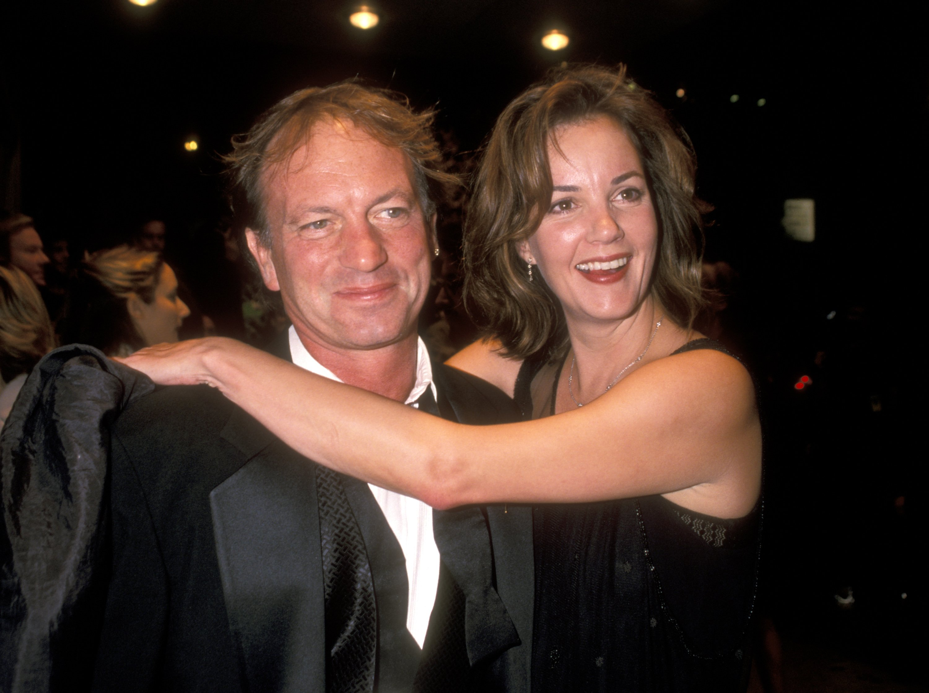 Margaret Colin and Justin Deas on September 23, 1999, in New York City | Photo: Getty Images