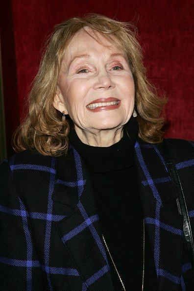 Actress Katherine Helmond at the premiere of Georgia Rule at the Ziegfeld | Photo: Getty Images