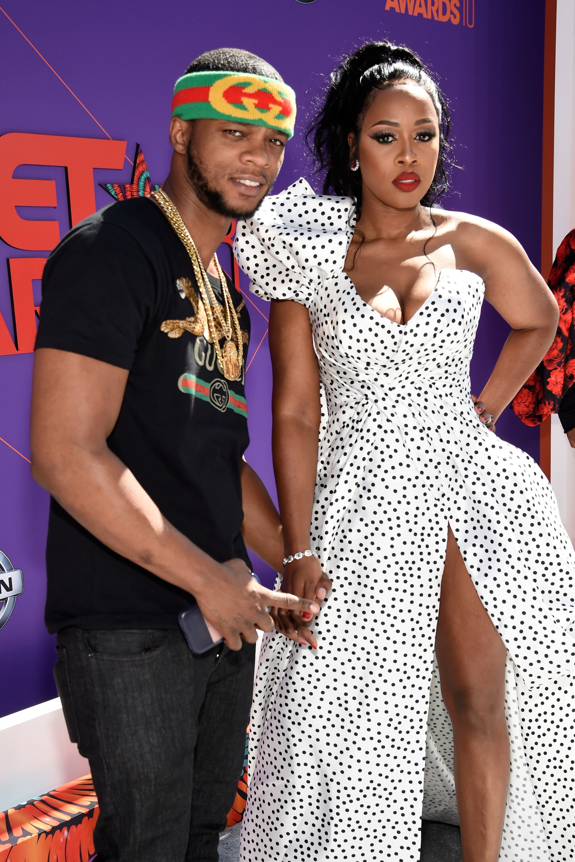 Papoose (L) and Remy Ma attends the 2018 BET Awards at Microsoft Theater on June 24, 2018 in Los Angeles, California   Photo: Getty Images
